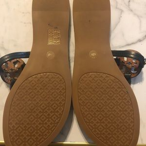 Tory Burch Shoes - Tory Burch mini Miller flip flops